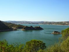 Travelogue Sardinia: Lago (Lake) Mulargia, Siurgus Donigala, Sardegna.