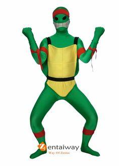 Spandex Lycra Ninja Turtle Costume