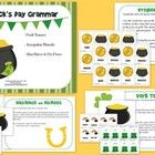 St. Patrick's Day Grammar Activity   This St. Patrick's Day themed grammar packet will bring you some luck of the Irish.  This packet contains three activities: Verb tenses, irregular ...