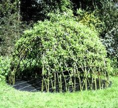 How-To: Living Willow Playhouse | Make: DIY Projects, How-Tos, Electronics, Crafts and Ideas for Makers