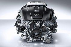 Mercedes-Benz AMG GT – V8 4.0 liter Twin-turbo Engine [video]