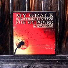 My Grace is Sufficient for You  2 by MegAndMosClubhouse on Etsy