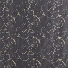 Black Pearl Madison Home Decor Fabric