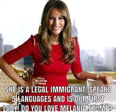 a First Lady to look up to again. Malania Trump, Trump One, Pro Trump, Trump Train, Melania Knauss Trump, Donald And Melania, Trump Quotes, Trump Is My President, First Lady Melania Trump