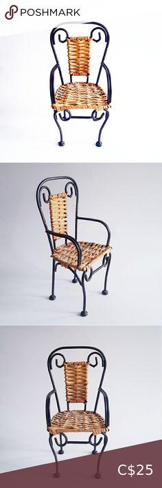 Outdoor Furniture, Outdoor Decor, Wrought Iron, Wicker, Chair, Mini, Closet, Shopping, Vintage