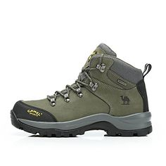 Men's Outdoor Professional Hiking Shoes Color Army Green Size 41 M EU