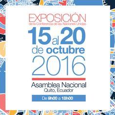Exposición HABITAT III: un espacio para impulsar el desarrollo urbano sostenible…