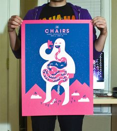 The Chairs Gig Poster