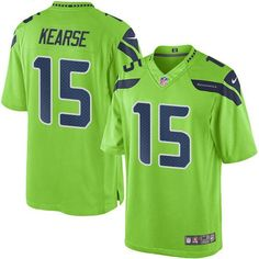 098cbf968 Nike Seahawks #15 Jermaine Kearse Green Youth Stitched NFL Limited Rush  Jersey And nfl jerseys