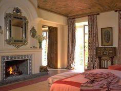 Bedroom at Hacienda de San Antonio (Mexico)