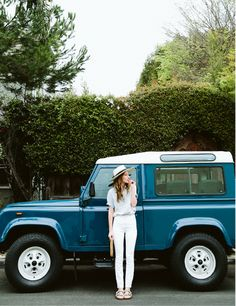 Hannah Henderson - Adventure Car, Land Rover Defender.