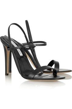 Diane von Furstenberg|Ulla leather sandals|NET-A-PORTER.COM