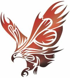 Eagle Tattoo Design get amazing tattoo designs at… Tribal Eagle Tattoo, Cool Tribal Tattoos, Eagle Tattoos, Tribal Tattoo Designs, Arte Tribal, Tribal Art, Native Art, Native American Art, Adler Tattoo