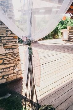 Wooden wedding Decore
