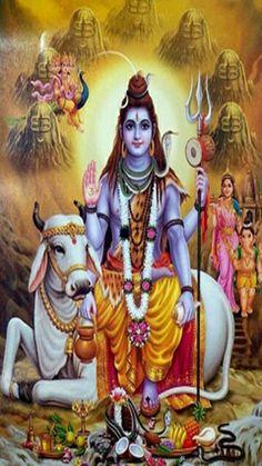 Shiva Sitting on Nandi Artist: Yogendra Rastogi (via Dolls of India) Shiva Shakti, Shiva Parvati Images, Mahakal Shiva, Shiva Art, Hindu Art, Rudra Shiva, Lakshmi Images, Krishna Art, Lord Shiva Hd Wallpaper