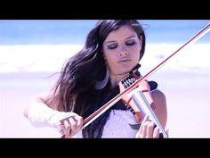 "Lucine Fyelon performs ""Perpetuum Mobile"" on electric violin"