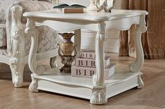 European country style casual small square table - MelodyHome.com