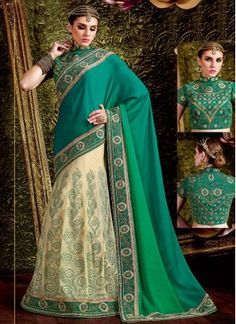 Elegant Zari Work Net Lehenga Saree Lehenga saree is the latest fashion trend. Popular among young girls, it has become essential for your wardrobe due to its design and versatility.You can buy designer lehenga saree online from an amazing collection of exclusive lehenga style sarees. As you browse through your favorite color & fabric.000