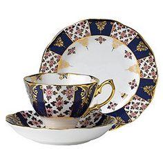 Royal Albert 1900 Regency Blue Tea Set