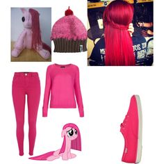 """Pinkie pie creepypasta"" by muffinzpony88 on Polyvore"