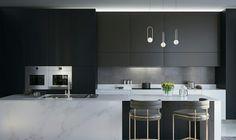 Kitchen Design / by Kseniia D/ Image Via Behance #kitcheninspo #kitchen #design #home #inspiration #interiordesign #designer