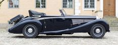 1933 Maybach DS-8 Zeppelin Cabriolet