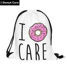 2016 new fashion Women Emoji Backpack 3D printing travel softback women mochila drawstring bag mens backpacks