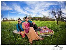 Ruby and Ravi's Dilwale Dulhania Le Jayenge inspired e-shoot