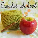 Crochet School--lesson to learn how to crochet...for when I finally find time with 3 kids who are 4 and under!!!