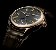Laurent Ferrier Galet Classic - 41 mm diameter. Rose gold