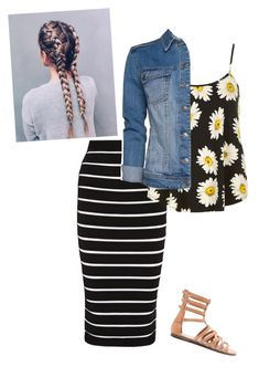 """""""Untitled #61"""" by ohraee019 on Polyvore featuring Balmain, Dorothy Perkins, MANGO and Forever 21"""