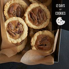 Tasting Table is in the middle of '12 Days of Cookies'.  These Pecan Tassies look delicious!