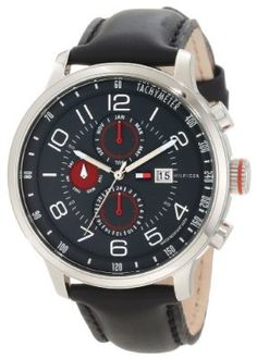 Tommy Hilfiger Mens 1790859 Sport Multi-Function Enamel Dial Watch