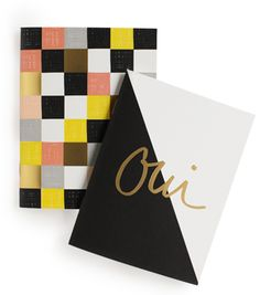 Garance Doré Oui Pocket Notebook (set of 2) | Lulu & Georgia #landggifts #luluandgeorgia