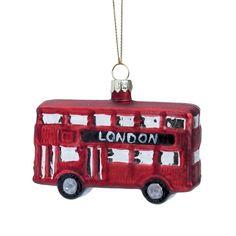 HANG ON karácsonyfadísz Londoni busz 8cm