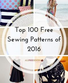 Top 100 Free Sewing Patterns of 2016