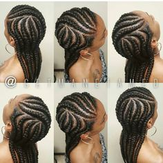 New Bob Haircuts 2019 & Bob Hairstyles 25 Bob Hair Trends for Women - Hairstyles Trends Big Braids, Ghana Braids, Cool Braids, Girls Braids, Black Girl Braids, Braids For Black Hair, Braid Styles, Short Hair Styles, Natural Hair Styles
