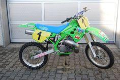 Dave Thorpe's '90 works Kawasaki SR 500