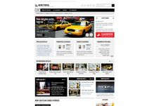 """""""JM-News-Portal"""" is the perfect Joomla 3.x template for news and #classifieds portal. Light graphic #design."""