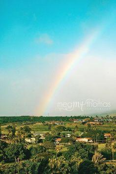Maui photography / maui landscape / rainbow / Maui, Hawaii
