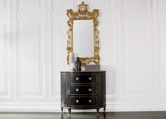 Gold Chinoiserie Mirror is authentic antique in a resin that captures every texture, carving, line, and flourish of the French-inspired original. Shop at the Ethan Allen of Orland Park, IL. design center.