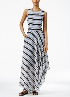 The Prettiest Maxi Dresses You've Ever Set Your Eyes On - A Striped Maxi