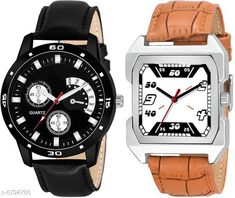 Watches New Fashion 2020 Combo Watch for Men and Boys  Strap Material: Leather Display Type: Analogue Size: Free Size (Dial Diameter Size: 42 mm)  Multipack: 2 Country of Origin: India Sizes Available: Free Size   Catalog Rating: ★4 (422)  Catalog Name: New Fashion 2020 Combo Watch for Men and Boys CatalogID_1487898 C65-SC1232 Code: 752-8724786-735