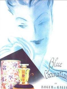 Great vintage perfume blog