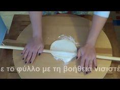Άνοιγμα φύλλου για πίτες - YouTube Tart, Sweet Home, Pie, Buns, Pastries, Food, Torte, Cake, House Beautiful
