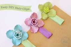 30 Adorable DIY Hair Accessories for Girls - Tipsaholic