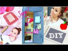Back To School: Locker Organization + DIY Decorations!