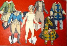 Two Brown, Taggard, & Chase Paper Dolls : Lot 91