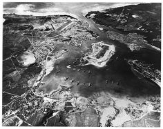 Pearl Harbor looking southwest-Oct41. This Day in History: Dec 7, 1941: Pearl Harbor bombed  http://dingeengoete.blogspot.com/
