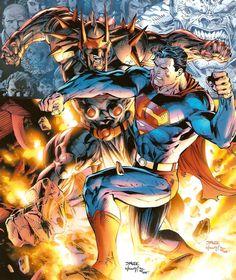 Superman vs Zod by Jim Lee